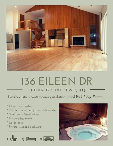 136 Eileen Dr, Cedar Grove, NJ