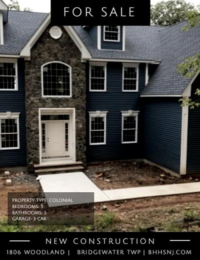 1806 Woodland, Bridgewater Township, NJ