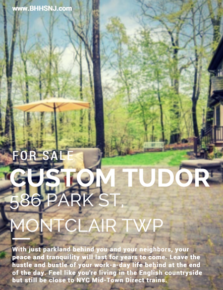 If it's serenity you seek, it's serenity you'll find at 586 Park St in Montclair Twp. The fine craftsmanship and attention to detail inside perfectly complement the natural parkland beauty surrounding the outside.